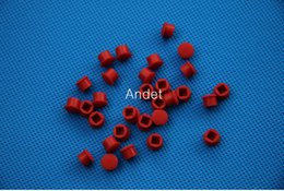 Wholesale Pc Ball Mouse - 100 PCS Lenovo ThinkPad TrackPoint Red Ball Mouse Track Pointer Caps for Keyboard