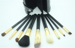 Wholesale Wholesale Wood Pen Kits - Aramis cylinder MC makeup brush sets makeup pen   make-up brush limited edition 9pcs set