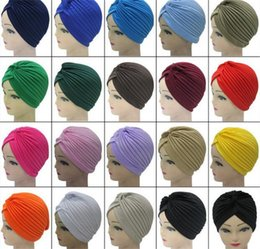 794aea2771e Discount women winter fashion india - 600pcs Unisex India Cap Women Turban  Headwrap Hat Skullies Beanies