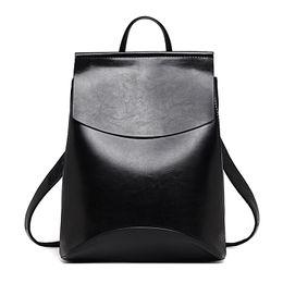 Wholesale Laptop Bags For Women Girls - Fashion Women Backpack High Quality Youth Leather Backpacks for Teenage Girls Female School Shoulder Bag laptop Bagpack mochila