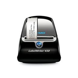 Badge macchina online-LW450 Turbo etichetta termica macchina nastro adesivo etichetta macchina codice a barre stampante gioielli etichetta stampante nome distintivo macchina da scrivere