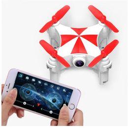 мини-камера wifi drone Скидка Cheerson CX-2.4 G 4ch оптический датчик потока 0.3 MP Камера Drone Wifi FPV Quadcopter Mini Drone Selfie Высота удержания RC дронов
