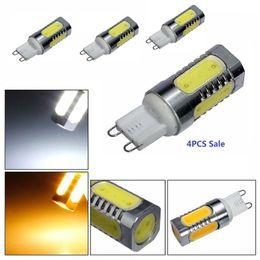 Wholesale G9 6w Led Light Bulb - 7.5W G9 LED COB Bulb 360 Beam Angle 700LM Warm Cold White Light Lamp High Quality Energy Saving LED Bulbs