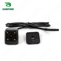 Wholesale Hd Rear View Camera - Universal HD Car Rear View Camera easy install without drill hole Parking Night Vision Waterproof KF-A1051