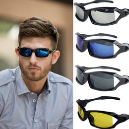 Wholesale Motor Cycles - Fashion Men Polarized Drive Sports Sun Glasses Outdoor Biycle Car Motor Designer Cycle Women Sunglasses Designer Free Ship O4034