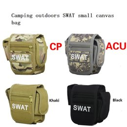 Wholesale Swat Drop Leg - Hot Swat Military Waist Pack Weapons Tactics Outdoor Sport Ride Leg Bag Special Waterproof Drop Utility Thigh Pouch