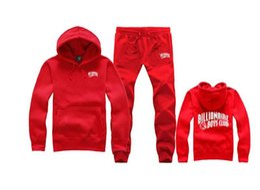 Wholesale Boy Hoodie Long Sleeve - Famous brand men hip hop suit hoodies pullover bbc Billionaire Boys Club sweatshirt+pants tracksuit clothing sudaderas moleton masculino