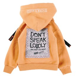 Wholesale Children S Pullover Hoodies - Boys and Girls Hooded Pullovers Children Coats Spring and Autumn Children's Hoodies