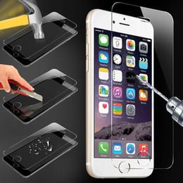 Protector de pantalla protector de rotura online-Protector de pantalla de vidrio templado para iPhone 8 7 Plus 6 6S Protector de película 9H Dureza Explosión Shatter Film Protector 7plus 5 5C 5S