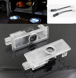 Wholesale Bmw E61 - LED Car Logo Door Laser Projector Welcome Ghost Shadow Light For BMW E60 E61 E90 E91 E92 E93 M3 E85 E86 E89 Z4