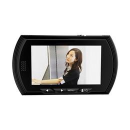 """Wholesale Peephole Video Doorbell - 4.3""""LCD Color Screen Doorbell 140 Degrees Night Vision Door Peephole Viewer Camera Digital Door Eye Video Record Wireless Doorbell"""