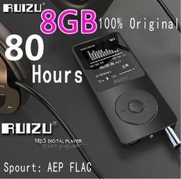 Wholesale Read Games - 100% Original RUIZU X02 MP3 Player With 1.8 Inch Screen Can Play 100 hours, 8gb With FM,E-Book,Clock,Data