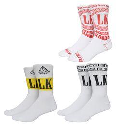 Wholesale Brown Wholesale Skates - Free shipping New Fashion Brand Minimalist Last King Socks Men Solid Color White Cotton Men's Sock Harajuku Skate Novelty Socks LK Socks