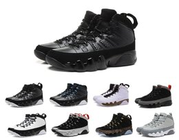 Wholesale Blue Statue - New air Retro 9 Anthracite black Copper Statue Baron Charcoal Johnny Kilroy blue Mens Basketball Shoes Cheap Retro 9s IX Sneakers 7-13