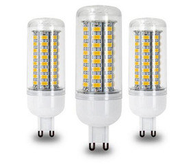Wholesale Led Halogen Replacements - High power LED E27 E14 B22 E26 Gu10 G9 BULB 72 led 5730 AC 220V 72leds corn bulb lamp Warm white   white 60 watt halogen replacement