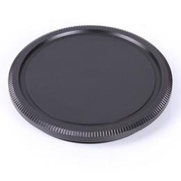 Wholesale Pentax Body - Metal Body Lens Cover Cap For M42 42mm Screw Mount for Pentax Leica Camera Black