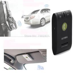 Wholesale Galaxy Visor - Wireless Bluetooth 4.0 Car Kit Speaker Speakerphone with Sun Visor Clip Handsfree For iPhone 6 6S 5 4S Galaxy S5 S4 S3