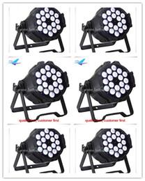 Wholesale Pc Par - free shipping MOQ 1 pc rgbw 4 in 1 leds 18x10w led par 64 can lights