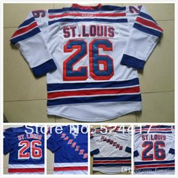 151c1d55b29 Cheap stitched 2016 New York Rangers  26 Martin St.Louis Jersey Royal Blue  Ice Hockey Jersey shirt with C patch