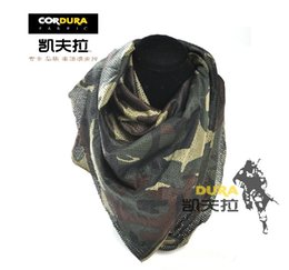 Wholesale Camouflage Headband Pink - Men's women's jungle adventure camping camouflage print outdoor breathable disguised scarves mask headband wristband square scarf