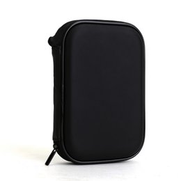 Wholesale Bag External Disk - High Quality universal Black Portable Zipper External 2.5 HDD Bag Case Pouch For Protection For 2.5 GPS Hard Disk Drive Helper