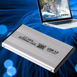Wholesale Ts Case - TS-25HC305 USB 3.0 2.5 Inch SATA Aluminum External HDD Case 5GB S Speed SSD Hard Disk Case External Enclosure Box hd externo