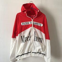 Wholesale Man Long Trench Coat - Men's Fashion Jacket Long Sleeve Hoodies Smoking Kills Printed Thin Skin Clothing Windbreaker Sportswear Sunscreen Streetwear Trench Coats