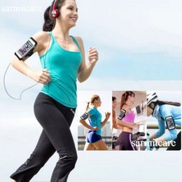 Wholesale Cellphones Water Proof - CS005- with Gift- iPhone 6 6s Plus Samsung Note 5 4 SPORTS Armbands for Running Cycling Workouts Water Sweat Proof Cellphone Armaband