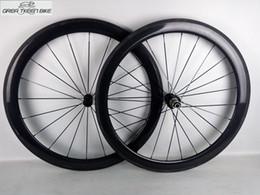 rodas de estrada de carbono china Desconto Alta qualidade 21 * 50mm rodas de carbono clinchertubular road bike rodado 1 ano de garantia frete grátis UD fosco brilhante