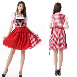 Wholesale Movies German - Pure German beer served the oktoberfest beer festival costumes clothing Bavarian tradition clothing