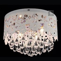 Canada Mordern Chambre Creuse Acrylique Fleur Cristal Larmes Suspendues Salle À Manger Plafonnier De Luxe Restaurant Parlor Plafonniers Éclairage Offre