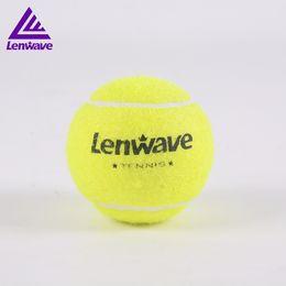 Branding tennisbälle online-Großhandel lenwave marke hohe elastizität langlebig ball tennis trainer training tennis ball im freien gelb professionelle tennisbälle