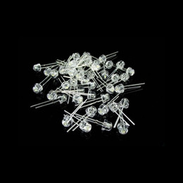 2021 led blanco ultra brillante de 5mm 1000pcs 5mm Blanco Rojo Azul Verde Amarillo Sombrero de Paja Ultra Brillante LED Diodo Kit led 5mm Sombrero de Paja LED Diodos de Luz envío gratis