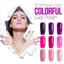 Wholesale Nail Polish For Wholesale - Azure 10Pcs Shining Gel Nail Polish Soak-off UV Led Gel Polish For Long-lasting Gel Polish Professional