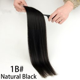 """Wholesale Tape Hair Extensions Wholesale Cheap - Cheap Tape Hair Extensions 20pcs Virgin Straight Pu Skin Weft MRS HAIR 16"""" 20"""" 22"""" Tape In Human Hair Extensions"""