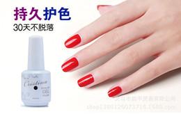 Wholesale Cristina Gel - Wholesale-New 10pcs lot Cristina UV Gel Nail Polish 256 Colors 15ml 0.5oz (You Choose 10 Colors) Free Shipping