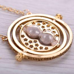 Wholesale Manufacturer Plant - Dream kingdom childhood time time converter Hermione necklace18K gold-plated multi-color optional manufacturer wholesa