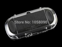 Canada Haute qualité Crystal Shell Clear Case Cover pour PS Vita étui rigide pour PSV ita 1000 Crystal Shell de protection, livraison gratuite Offre