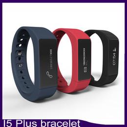 Wholesale I5 Gps - I5 Plus Smart Bracelet Bluetooth 4.0 Waterproof Touch Screen Fitness Tracker Health Wristband Sleep Monitor Smart Watch 6500043-2