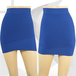 Wholesale Clothes For Office Lady - 2016 womens fashion plain skirts luxury brand design cross mini skirt tight fit bodycon office lady clothing formal apparel for woman
