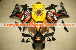 Wholesale Honda Cbr Gifts - 3 Gifts+Cowl+Tank cover New ABS Injection Fairings set For HONDA CBR1000RR 2006 2007 CBR 1000 RR 06 07 hot sales yellow tank repsol