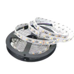 Wholesale Led Chips 12v - RGBW LED Strip 5050 DC12V 24V Flexible Light 4 color in 1 LED Chip 60 LED m 5m lot