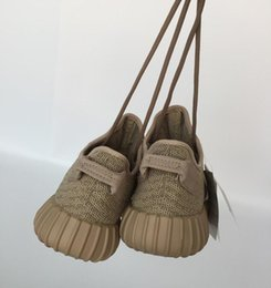Wholesale Global Rubber - Global hot Genuine Kanye West 350 Turtle Dove Moonrock Oxford Tan Pirate Black High Quility Gray Shoes Right Version Running shoes