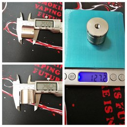 Wholesale Base For Face - Double-Faced Stainless Steel Base RDA RBA RTA Atomizer Big SS Stand Metal Holder Exhibition with 510 thread Display for Fixed Vape Ecig DHL
