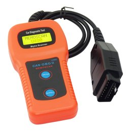 Wholesale Can Bus Launch Bluetooth - Universal U480 OBD2 OBDII CAN BUS Fault Code Reader Diagnostic Scanner Tool Engine Code Reader U480 Car scanner free shipping