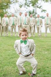 Wholesale Charcoal Suit Silver Tie - CuteBoy's Formal Wear Blazer Children Suit Boys Suits white suits for boys Boys Suits For Weddings boys tuxedo charcoal ((Jacket+Tie+pants)