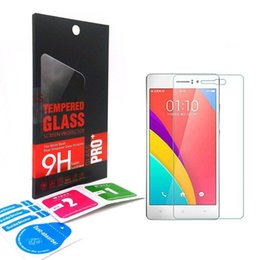 Wholesale Oppo Screen - 0.33mm 9H 2.5D Premium Tempered Glass screen Protector For OPPO R9 R8 R7 PLUS A35 A30 FIND 7 5 X9007 X9077 X909 R829 R830 with retail-box