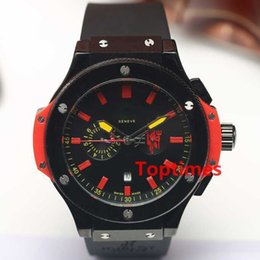 Wholesale big bang mens watch - Hot Brand Luxury Skeleton Watch Sports F1 Black Big Stainless Steel Bang Case Mens Mens Watches Business Stop Auto Date Wristwatches Reloj