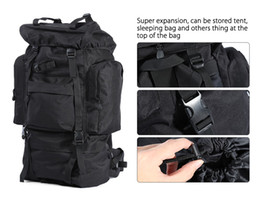 Wholesale Rifle Backpacks - Army Men Women Outdoor Military Tactical Backpack Camping Hiking Rifle Bag Trekking Sport Travel Rucksacks Climbing Bags