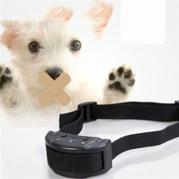 Wholesale Dog Barking Devices - Dog Collars Automatically The Magisterium Check Barking Of Factory Small Pet Training Device The Dog Black ABS Nylon Adjustable Collar